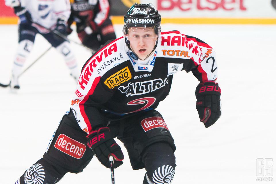 Pulli jatkaa Jyväskylässä myös ensi kaudella.