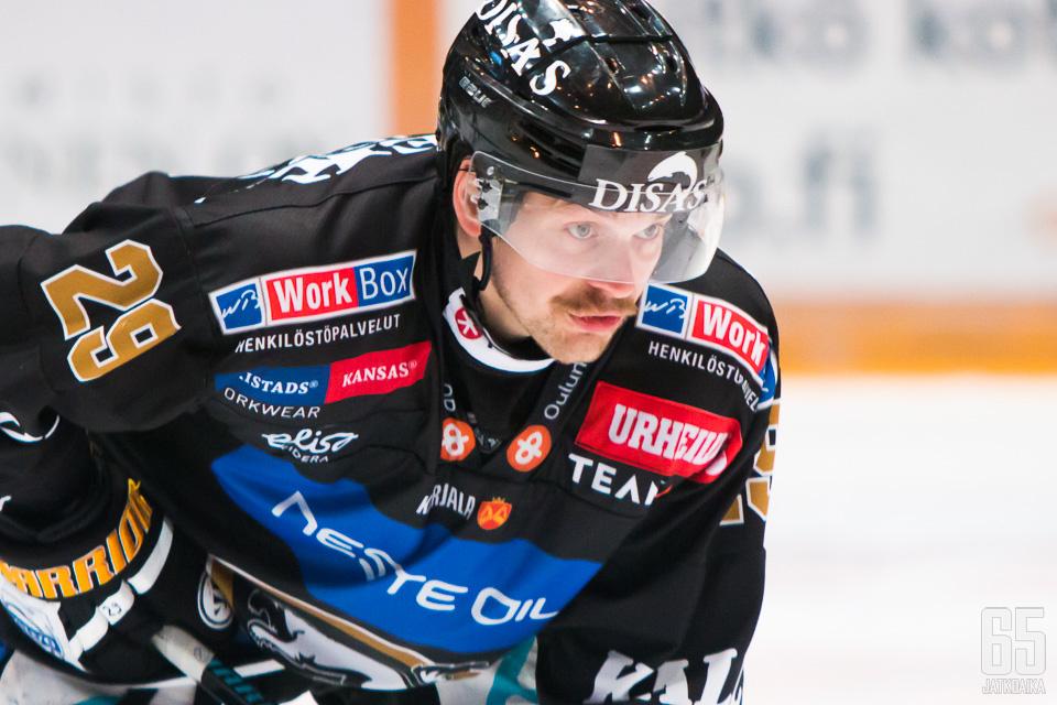 Alikoski pelaa Kärpissä myös seuraavat kaksi kautta.