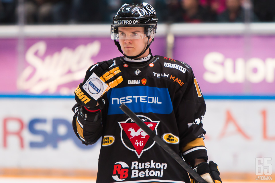 Koko liigauransa Kärppiä edustanut Junttila siirtyy Luulaja HF:n riveihin.