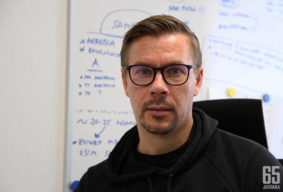 Kalle Sahlstedt tietää, ettei pelkkä toivominen riitä vaikeassa tilanteessa.