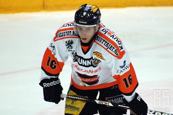 Tuominen pelasi vietti viime kauden Kouvolassa.