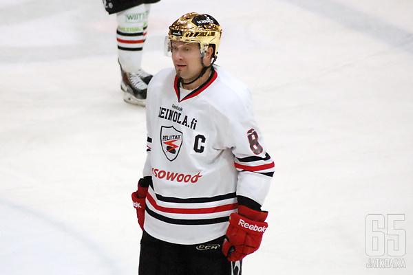 Jani Keinäsen tunnisti pelaajaurallaan useimmiten C-kirjaimesta ja kultakypärästä.