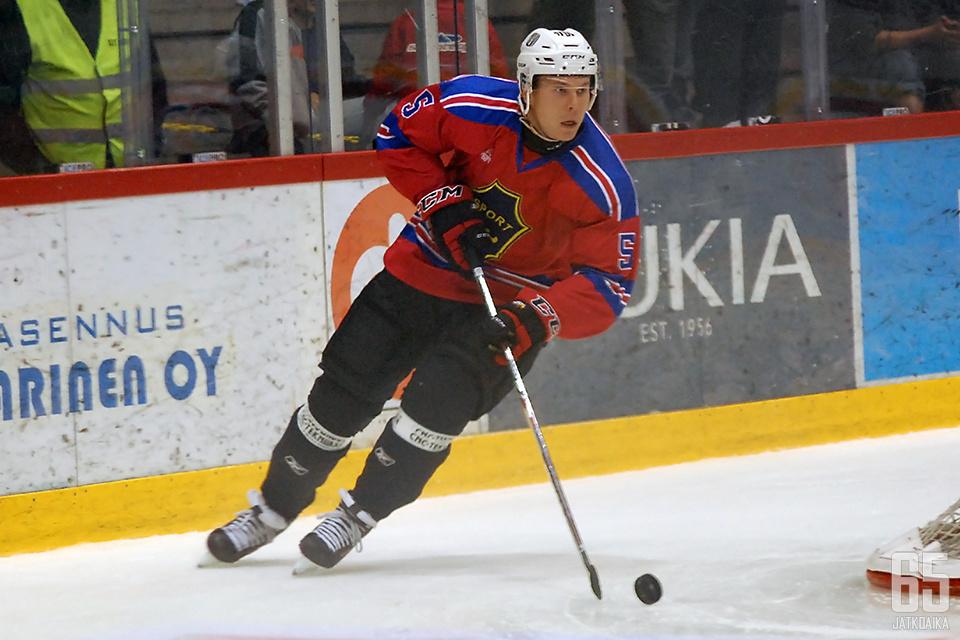 Heikkinen on jälleen Sportin vahvuudessa.