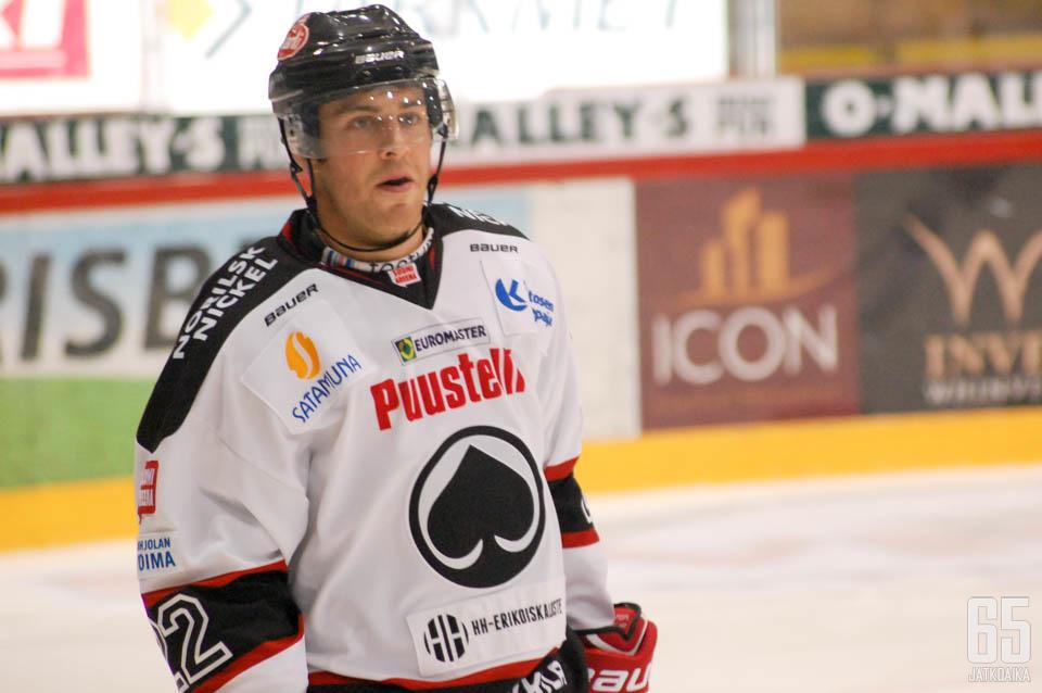 Hansen pelaa Porissa ensi kaudellakin.
