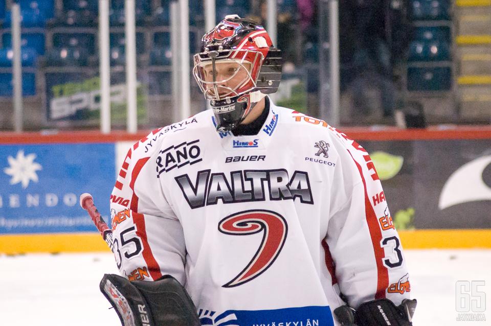 Rajaniemi pelasi viisi kautta Jyväskylässä.