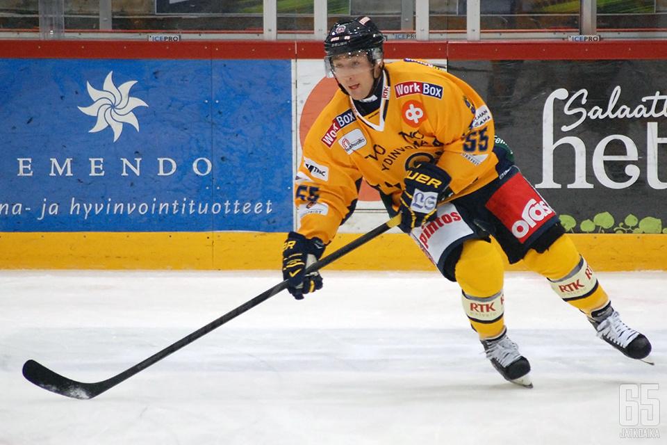 Tikkanen edusti Lukkoa kuuden kauden ajan.