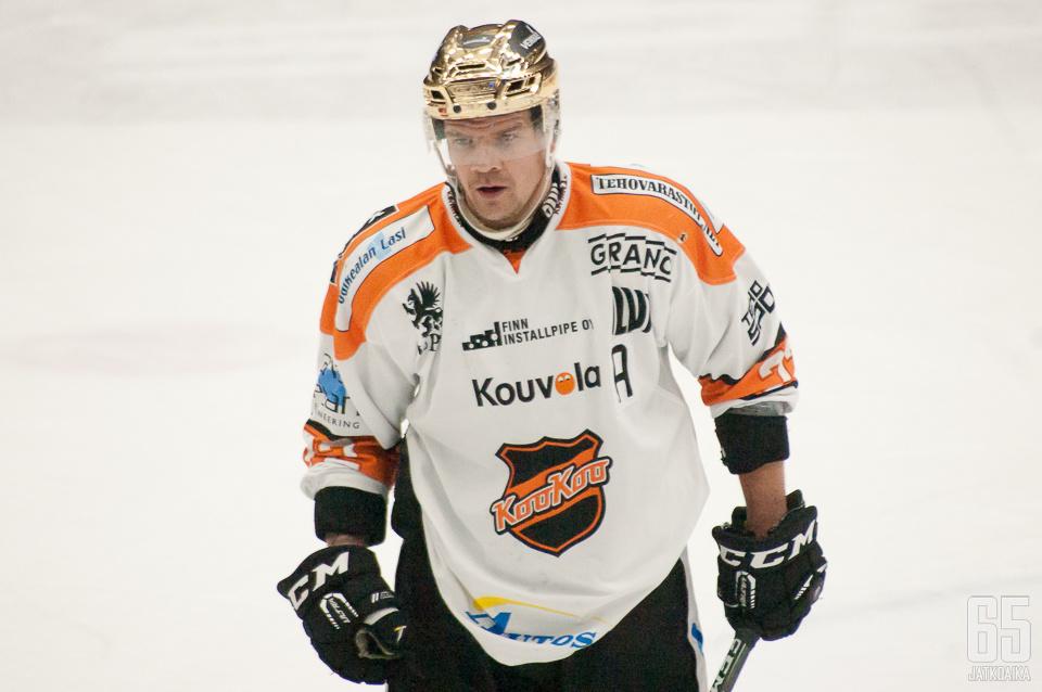 Päättyneellä kaudella Haataja oli KooKoon paras pistemies.