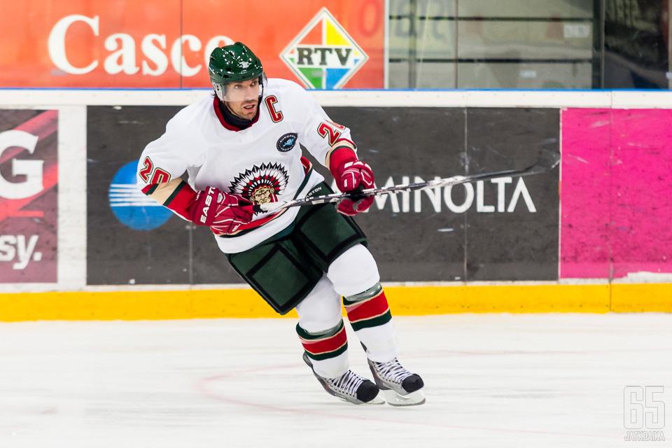 Joel Lundqvist on edustanut Frölundaa tuhannessa ottelussa.