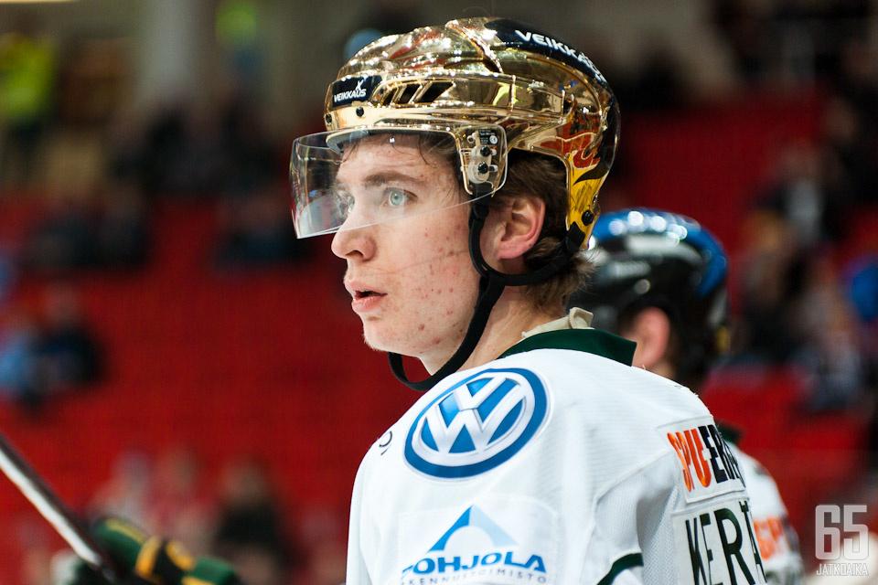 Michael Keränen oli viime kaudella Ilveksen tehokkain pelaaja.