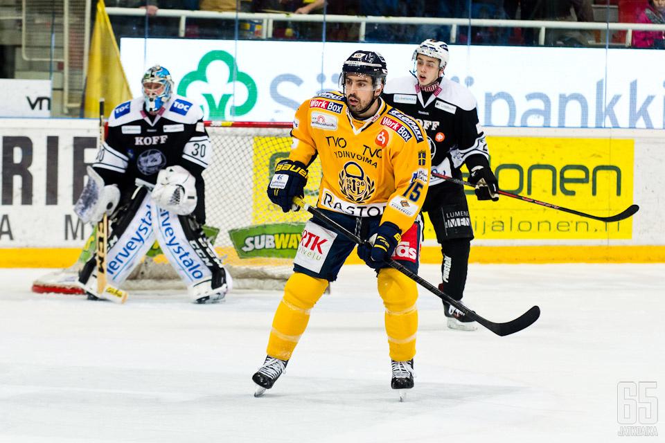 Zalewski pelasi viime kaudella Rauman Lukossa.