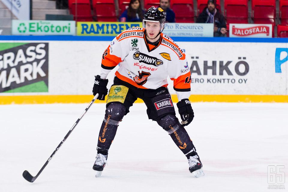 Tuominen edusti KooKoota jo viime kaudella.