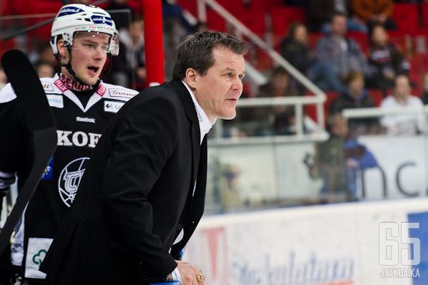 Kai Suikkanen ei onnistunut saamaan joukkueestaan parasta irti.