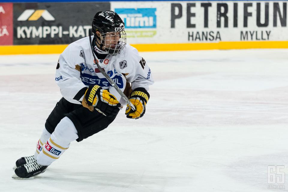 Radek Koblizek pelasi alkukauden Kärpissä.