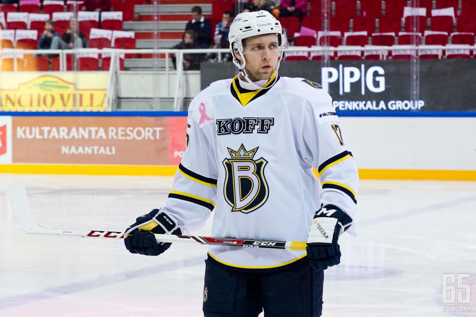 Iossafov pääsi kokeilemaan viime kaudella Liiga-vauhtiakin.