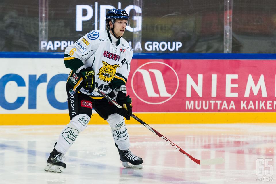 Kivistö pakittelee ensi kaudella KHL-kaukaloissa.