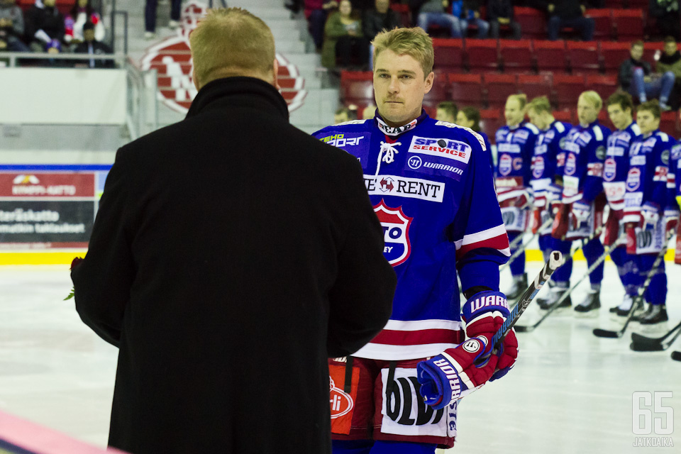 Tuukka Pulliainen nappasi arvokkaimman pelaajan palkinnon.