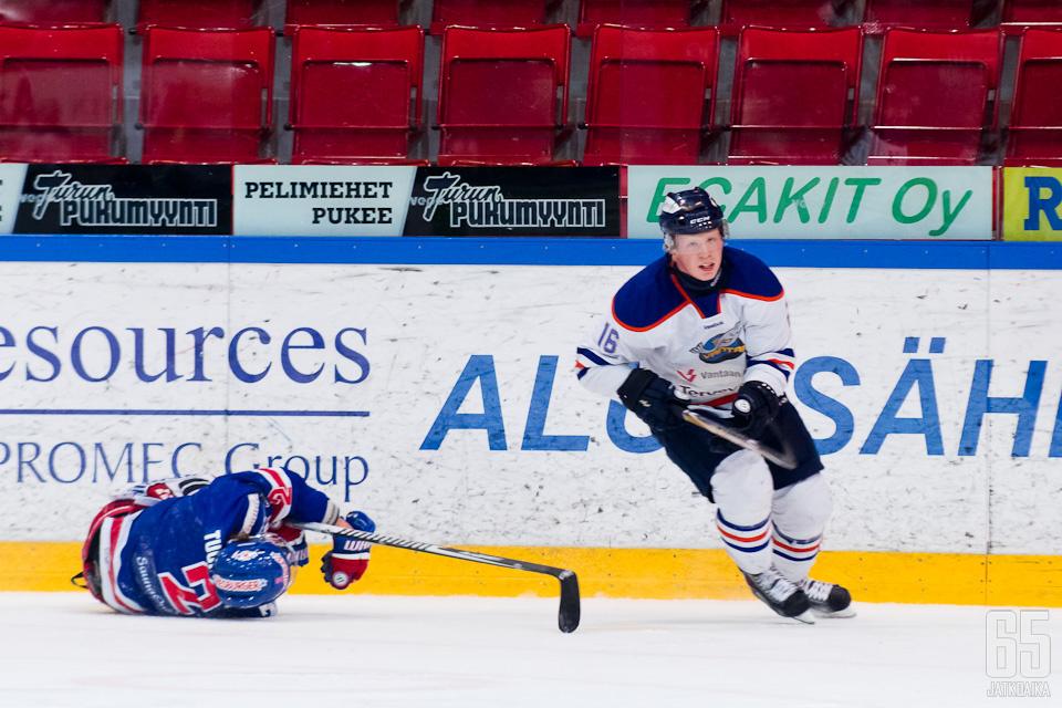 Kristian Tuohilampi joutui sairaalahoitoon Micke-Max Åstenin takaluksen jäljiltä.