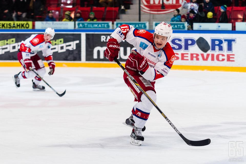 Pyykkönen pelaa Kajaanissa ensi kaudellakin.