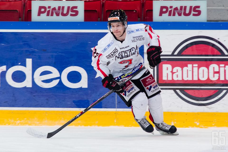 Sammalmaa on edustanut JYP-Akatemiaa neljän kauden ajan.