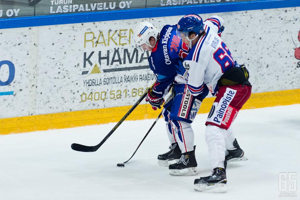 Zboril pelasi Keuruulla myös viime kaudella.