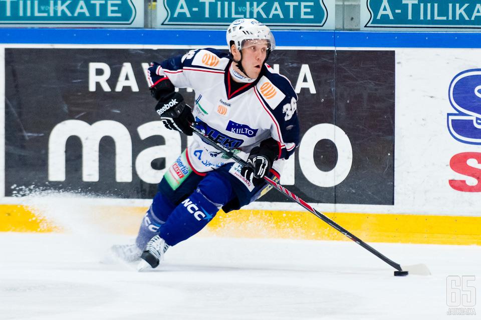 Hildén pelasi LeKissä yhteensä neljällä kaudella.