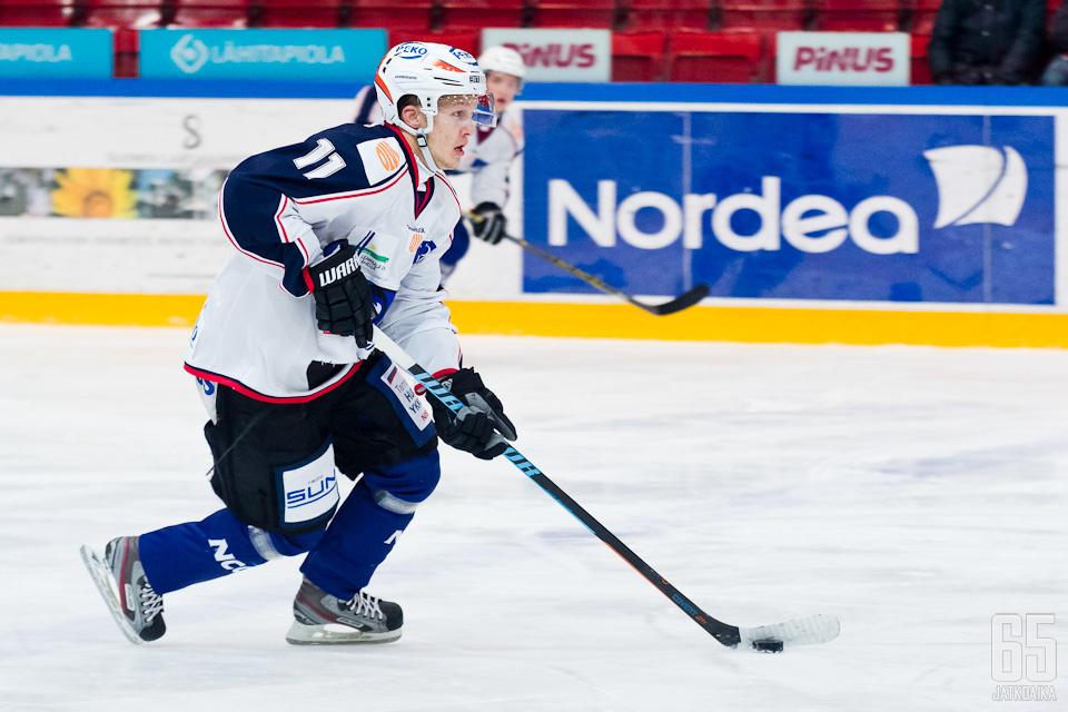 Kallela esiintyi viime kaudella tehokkaasti Mestiksessä.