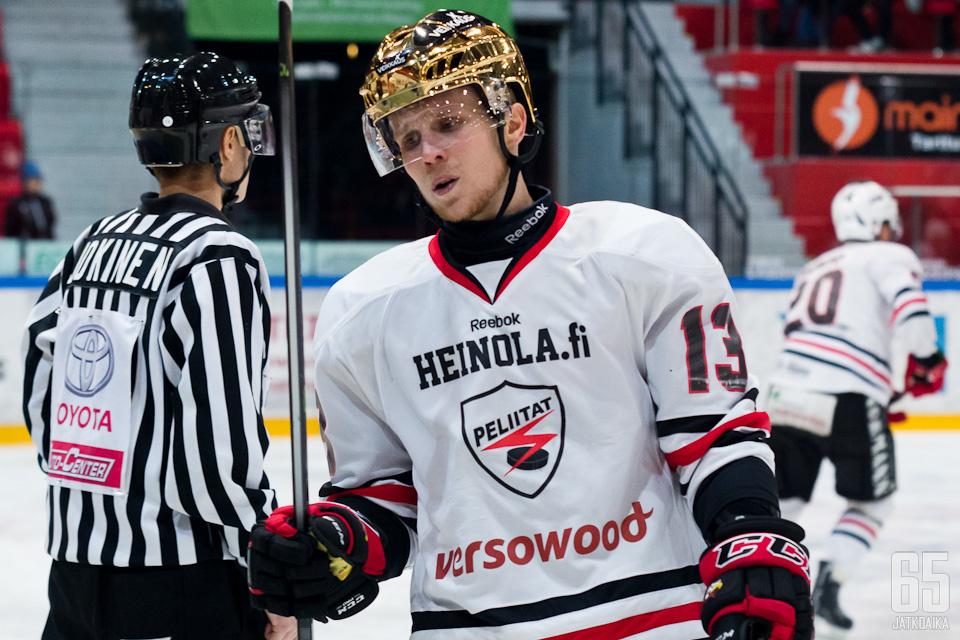 Kristof edusti viime kaudella Peliittoja.