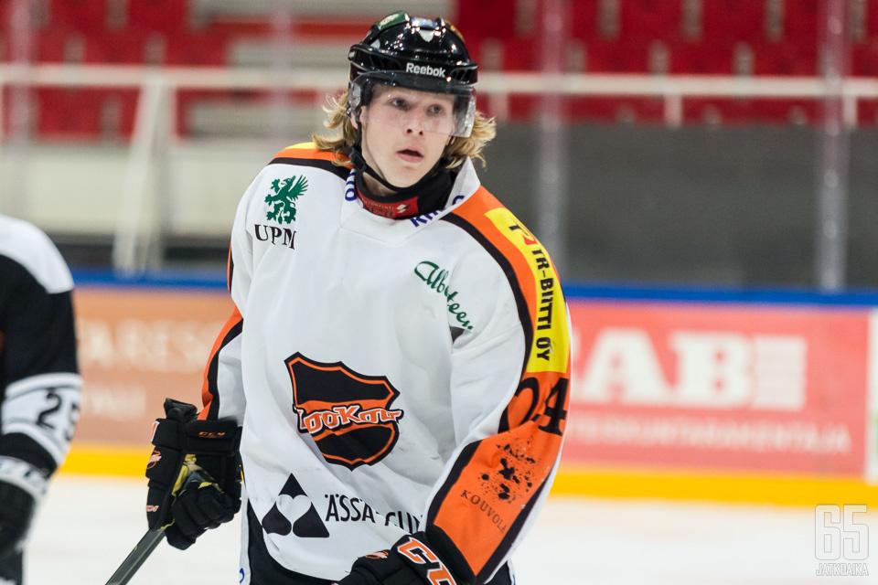 Sami Tamminen on pelannut Suomessa pitkälti KooKoon junioreissa ja edustusjoukkueessa.