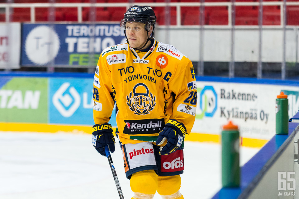 Janne Niskala on tärkeässä roolissa Lukossa myös tällä kaudella.