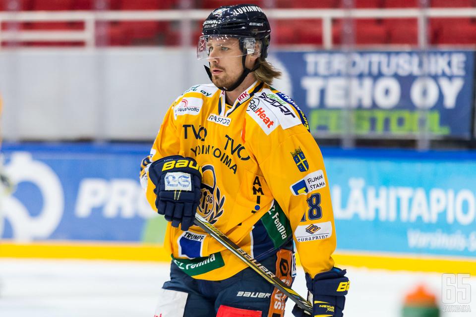 Rony Ahosen mailasta syntyi Lukon edellisen ottelun voittomaali.