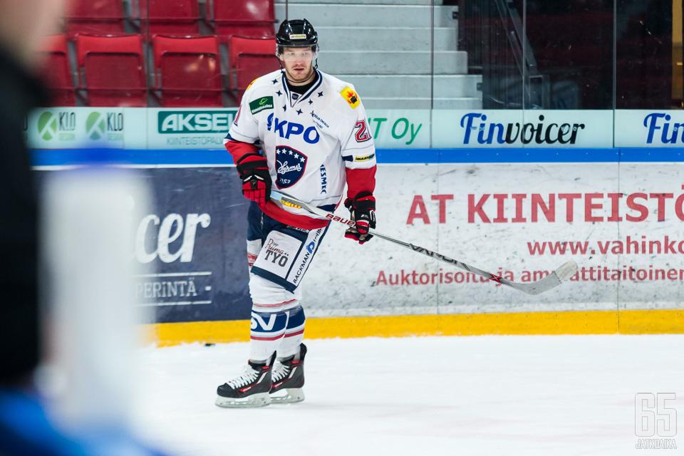 Rajala pelasi päättyneellä kaudella Hermeksessä.