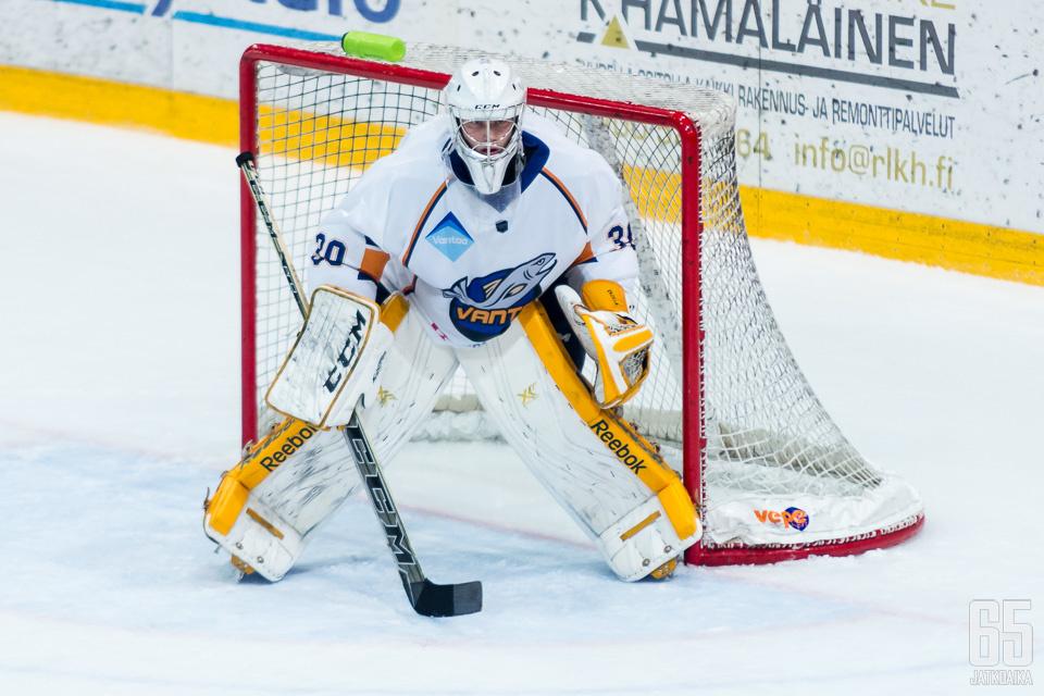 Yrjölä on pelasi viime kaudella Kiekko-Vantaassa.
