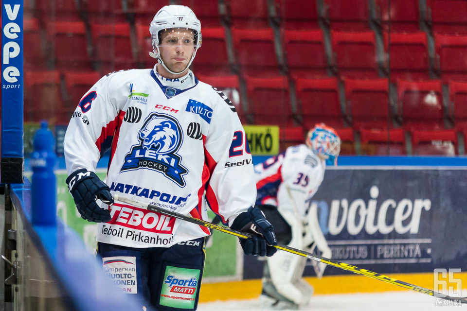 LeKissä Tuominen keräsi 21 ottelussa 16 tehopistettä.