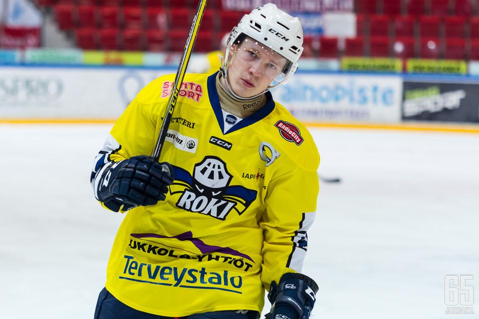 Tuomas Komulainen oli kevään aikana RoKin jatkoaikasankari useamman kerran.