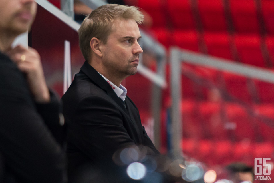 Marko Tuomainen lensi viime kaudella kolmesti ulos.