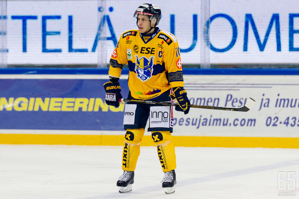 Marko Kauppinen päättää pitkän pelaajauransa kuluvaan kauteen.