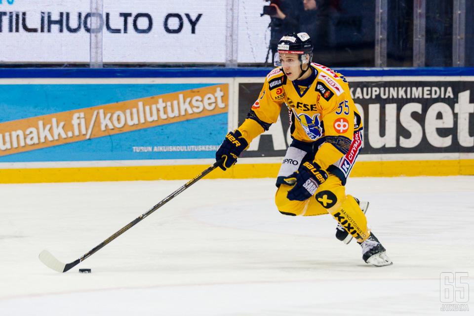 Miika Koivisto on lyönyt itsensä läpi kuluvalla kaudella.
