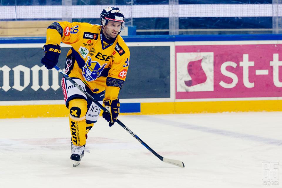 Sipiläinen edusti Liiga-urallaan neljää eri seuraa.