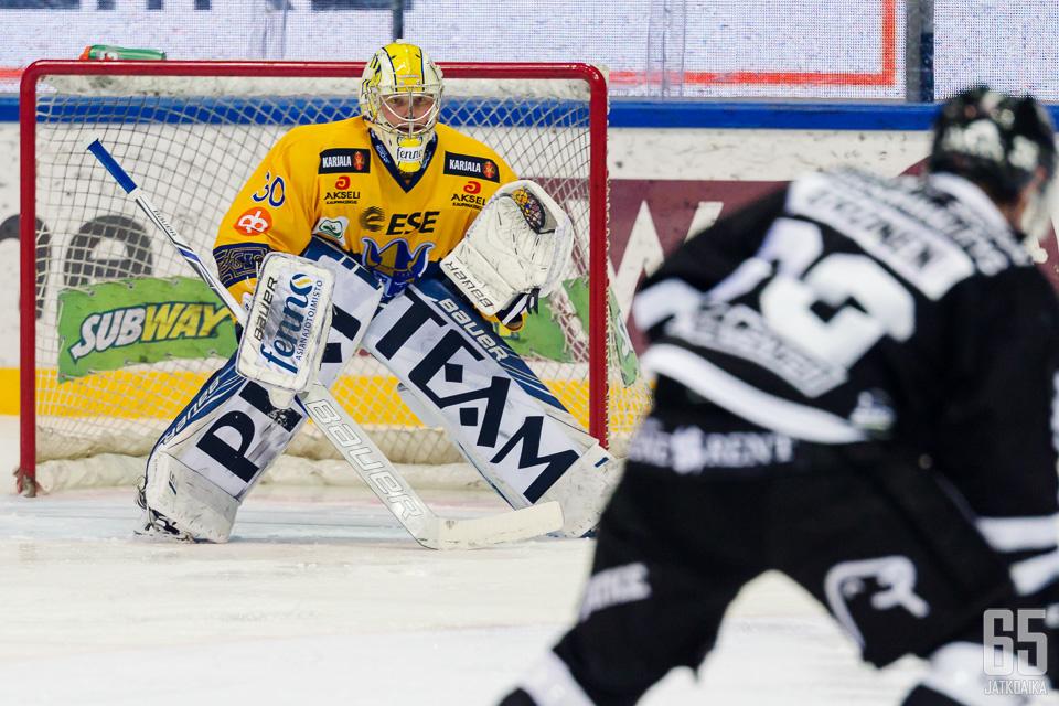 Jatkoajan toimitus pitää Sami Rajaniemeä Liigan top viisi -maalivahtina.