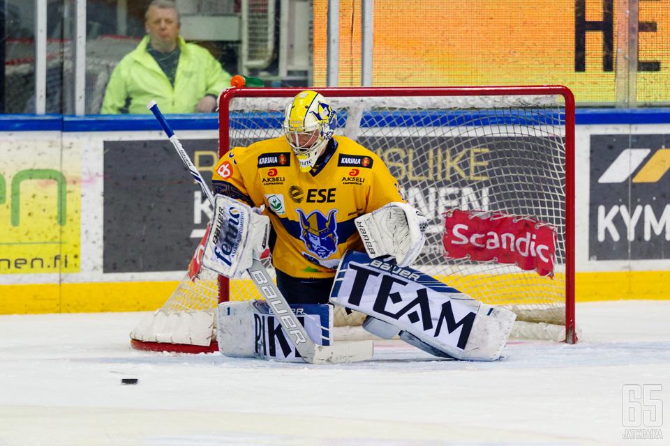 Sami Rajaniemi pelasi vahvan ottelun.