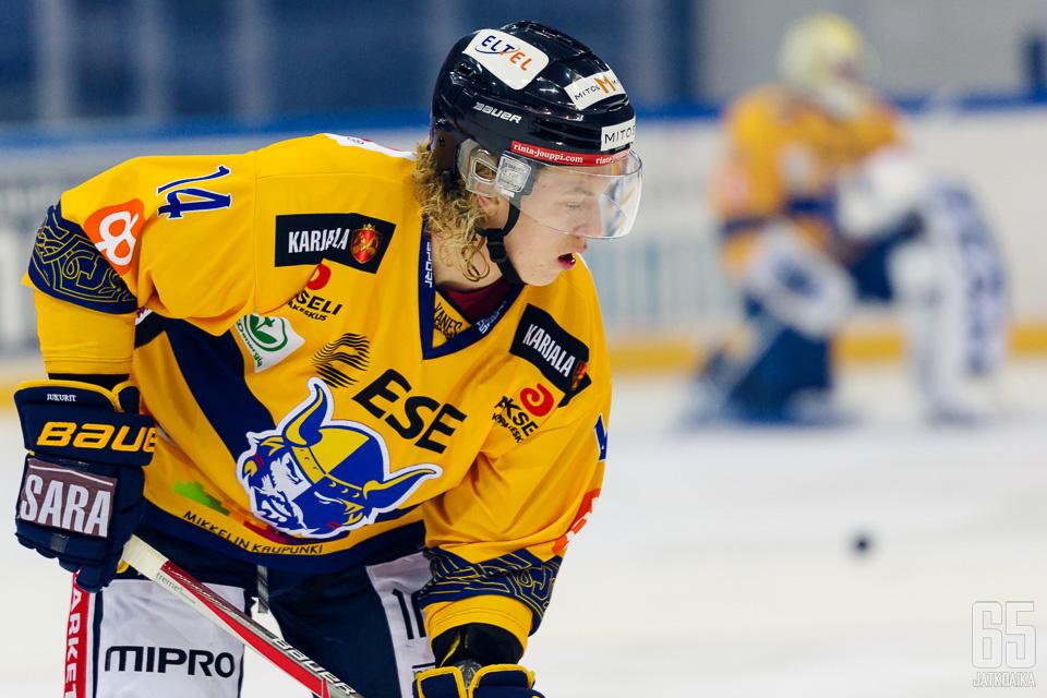 Nättinen pelasi koko kuluneen kauden Mikkelissä.