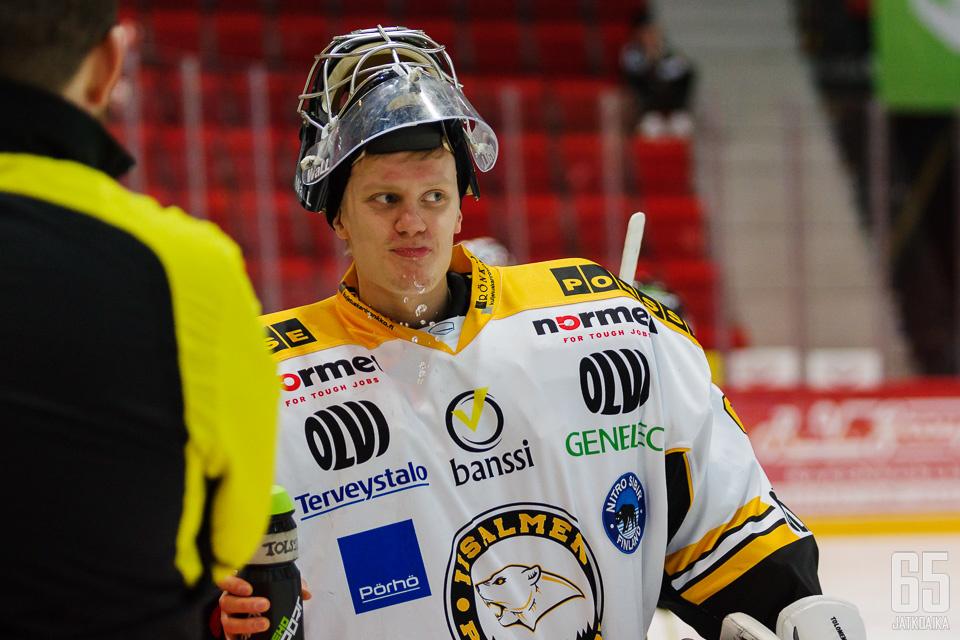 Tuomas Tolonen oli suuressa roolissa IPK:n ensimmäisellä kaudella Mestiksessä.