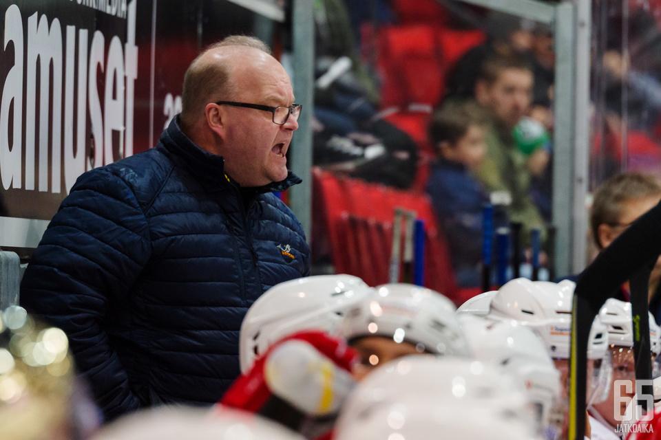 Päävalmentaja Pasi Arvosella on selkeä käsitys joukkueensa iskukyvystä.