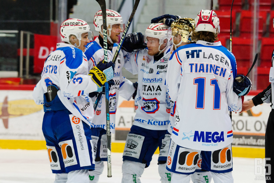 KeuPa voitti mestaruuden lisäksi myös Mestiksen runkosarjan.