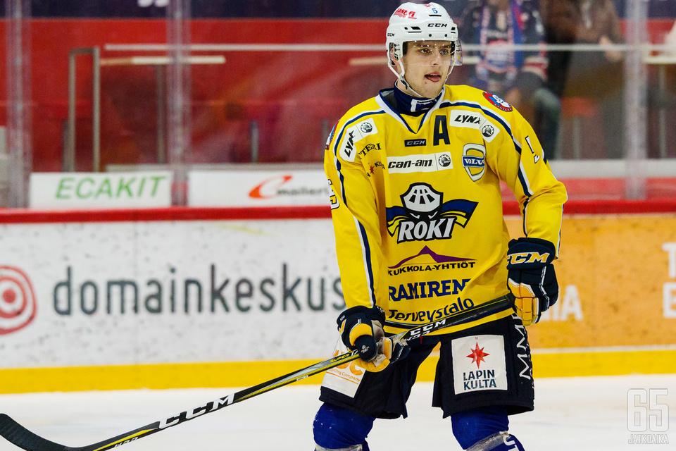 Eemeli Heikkinen on Kiekko-Vantaan viidestoista sopimuksen tehnyt pelaaja.