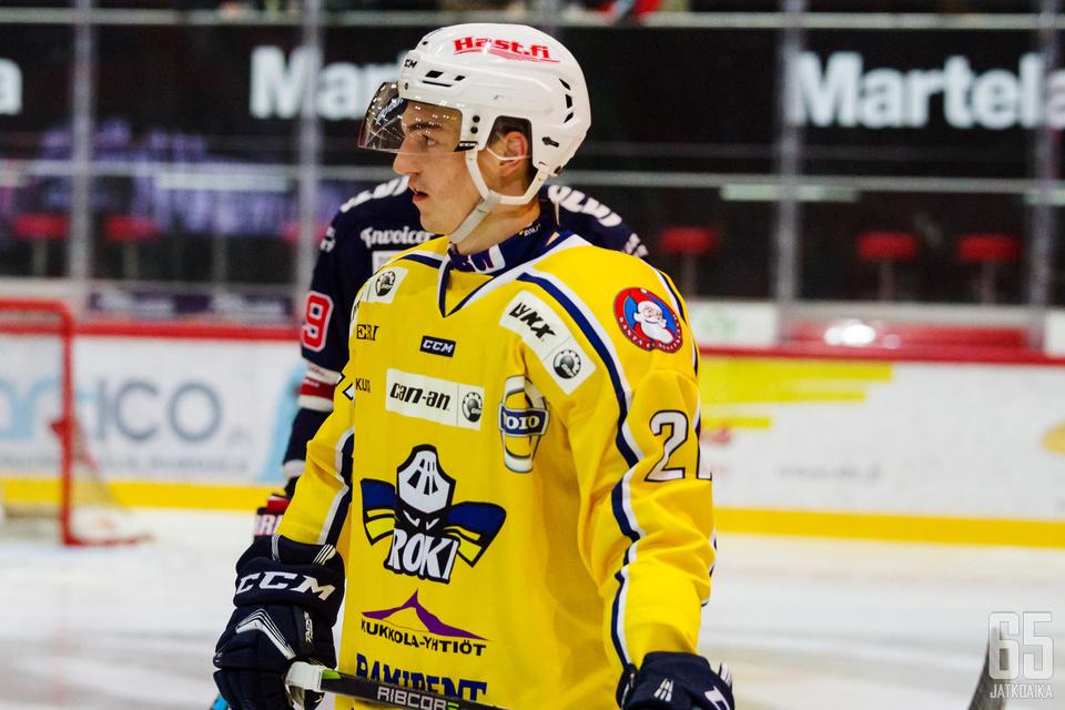 RoKin Malo Ville oli toinen tappelupukareista, joiden peli päättyi ennen aikojaan.