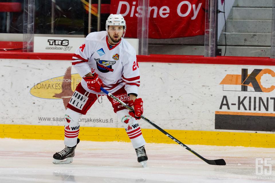 Janne Kivilahti pelasi mainion ottelun perjantaina.