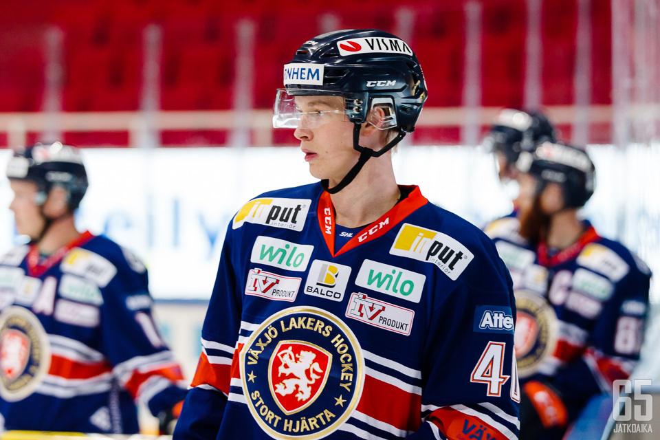 Elias Petterssonin ensimmäinen SHL-kausi on alkanut erinomaisesti.