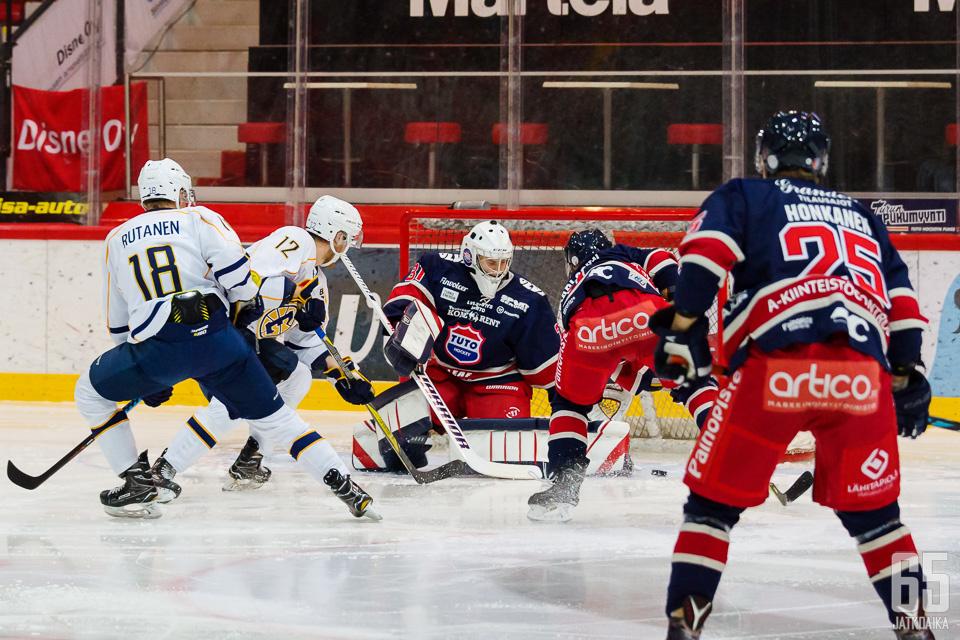 Viime kaudella Espoo United ja TUTO kohtasivat pronssiottelussa.