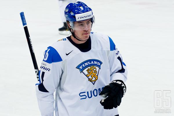 Järvinen pelasi MM-kisoissa viisi vuotta sitten.
